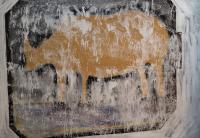 Rhino - Acryl auf Leinwand 140x200cm